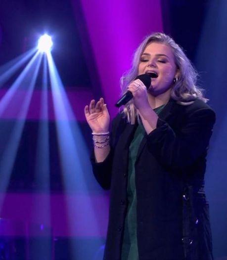 Karlijn 'knock-out' in The Voice of Holland; maar genoten en veel geleerd