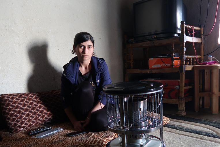 Soad werd op een slavenmarkt gekocht door een Amerikaanse IS-vrouw. Beeld Brenda Stoter