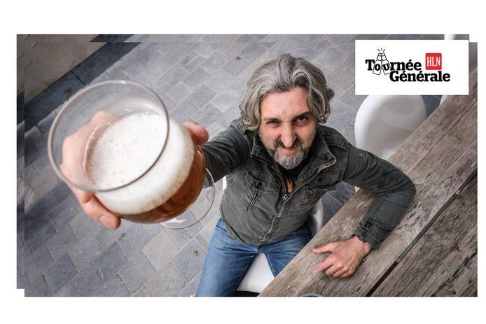 """Muzikant Joost Noyelle zal zaterdag allicht naar de Boomgaardstraat afzakken om iets te drinken: """"Gezondheid!"""""""
