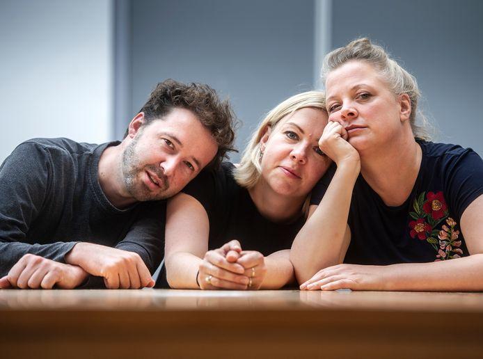 Alex van der Hulst, Nynke de Jong en Hanneke Hendrix