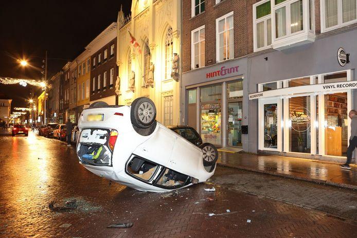 Geplunderde Hinthamerstraat in 's-Hertogenbosch.