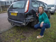 De auto van Nelleke is 's nachts in Zwolle geramd, maar door wie?