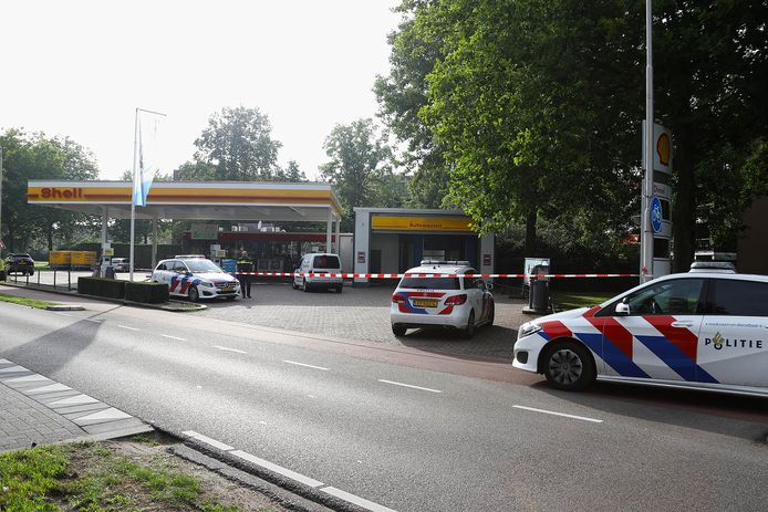 De Shell aan de Joost van den Vondellaan in Oss werd overvallen.
