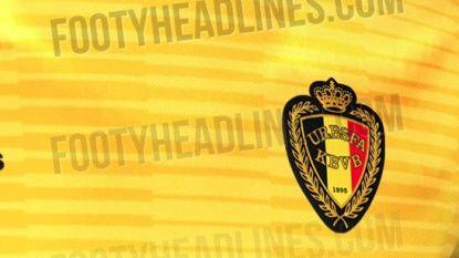 Zijn de Rode Duivels straks in Rusland ook in deze gele shirts te zien?