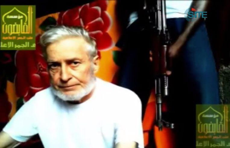 Ingernieur Francis Collomp werd ontvoerd door de groep Ansaru (de Avant-garde ter Verdediging van Moslims in Zwart Afrika). Beeld AFP