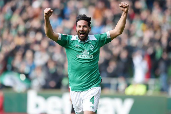 Pizarro kroonde zich op veertigjarige leeftijd in het 2-1 gewonnen competitieduel met RB Leipzig tot oudste doelpuntenmaker ooit in de Bunderliga.