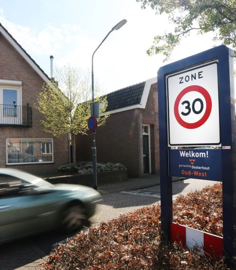 Snelheid op alle wegen in Oosterhout moet naar 30 km per uur, vindt de Fietsersbond
