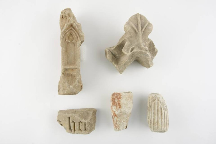 Archeologische vondsten Domplein