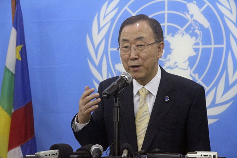 Ban Ki-moon Beeld ap