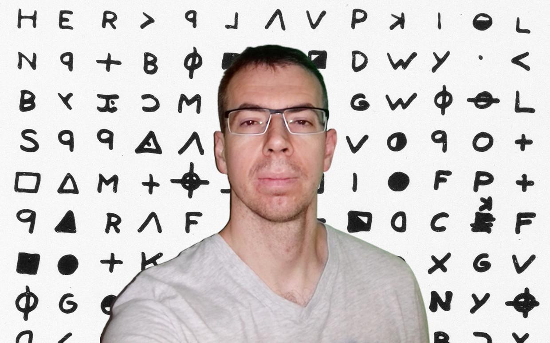 De onbekende en uiterst teruggetrokken Vlaming Jarl Van Eycke blijkt één van de beste decodeerders ter wereld.  Beeld RV