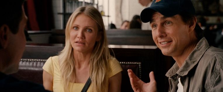 Cameron Diaz en Tom Cruise in Knight and Day. Beeld null