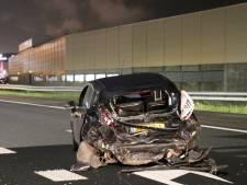 Vijf auto's botsen op A2 bij Maarssen, één bestuurder gewond