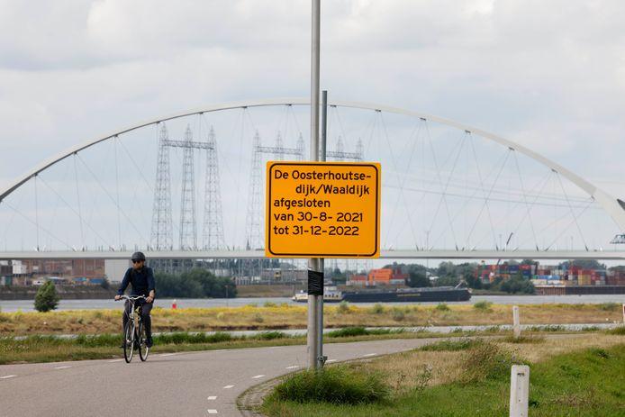 Oosterhoutsedijk/Waaldijk gesloten tot 31 december 2022.