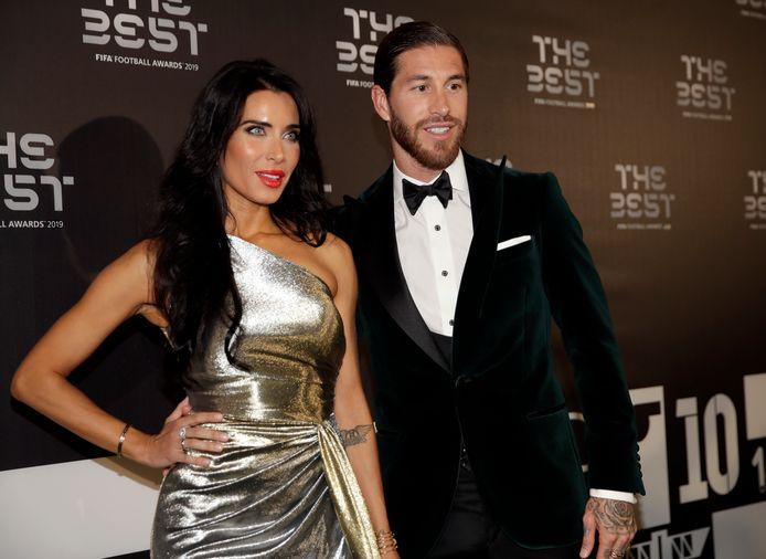Sergio Ramos et son épouse Pilar Rubio
