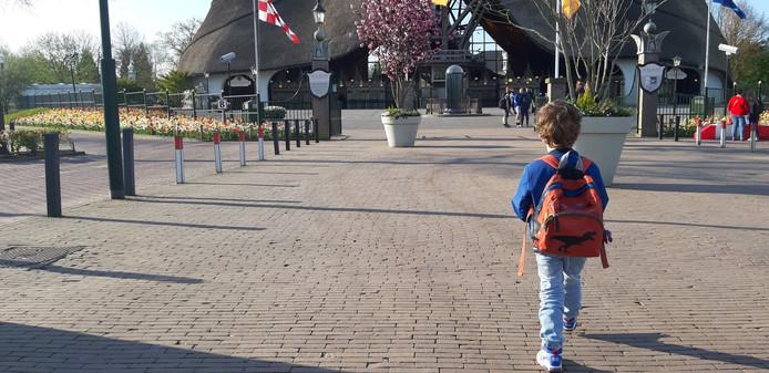 Noah op weg naar de nieuwe Tufferbaan