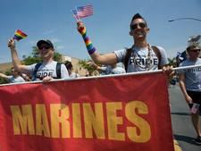 Trump weert transgenders uit leger VS