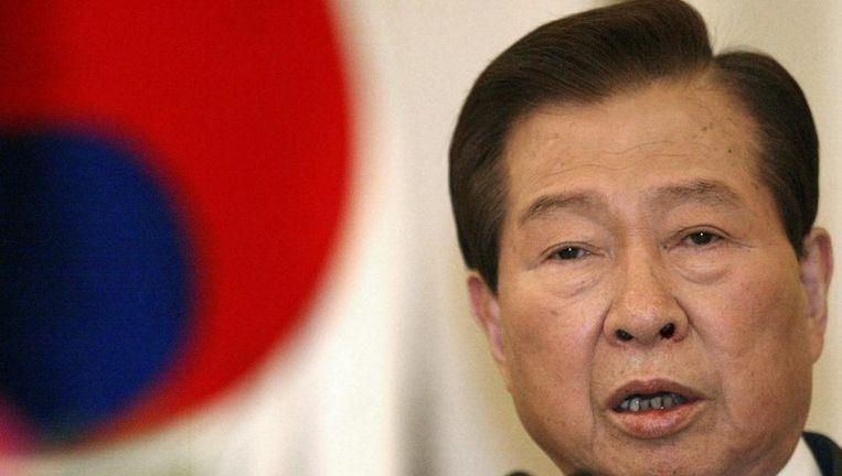 Kim Dae-jung, die Zuid-Korea van 1998 tot 2003 leidde, probeerde de betrekkingen tussen beide Korea's te verbeteren. Hij kreeg daarvoor in 2000 de Nobelprijs voor de Vrede. Foto EPA Beeld