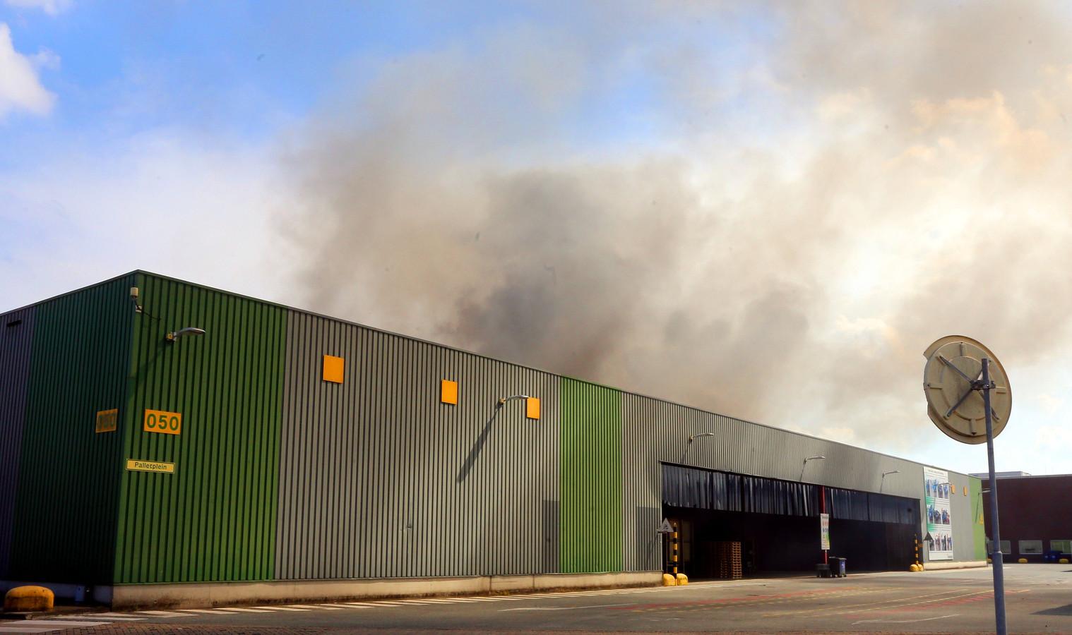 Brand bij Heineken in Den Bosch snel geblust.