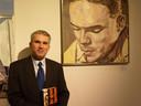 Victor Laurentius bij de presentatie van de biografie