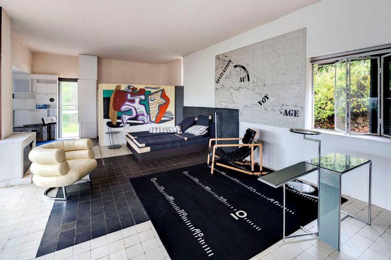 Interieur Villa E-1027. Beeld Manuel Bougot