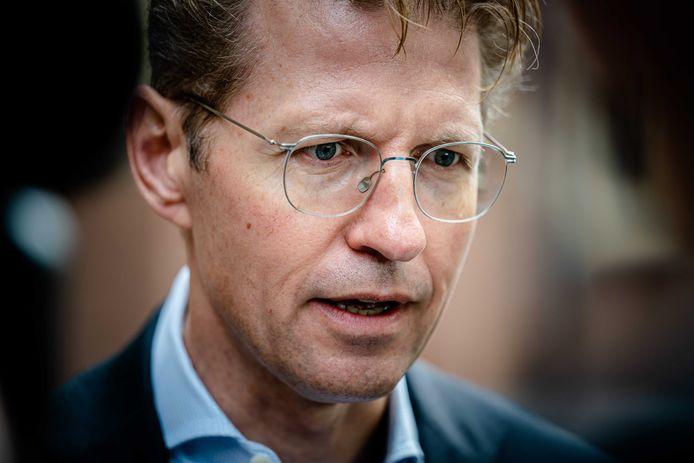 Demissionair Minister Sander Dekker van Rechtsbescherming.