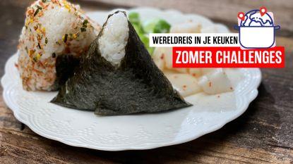 Op wereldreis in je keuken - Japanse onigiri