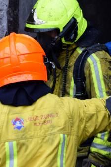 Cinq blessés dans un important incendie à Liège: l'un d'entre eux a été gravement brûlé