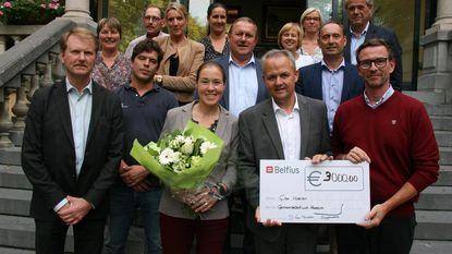 G-atlete Gitte Haenen ontvangen op gemeentehuis