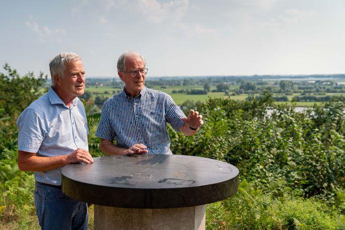 Ben (rechts) en Jan Willem Dalhuisen.