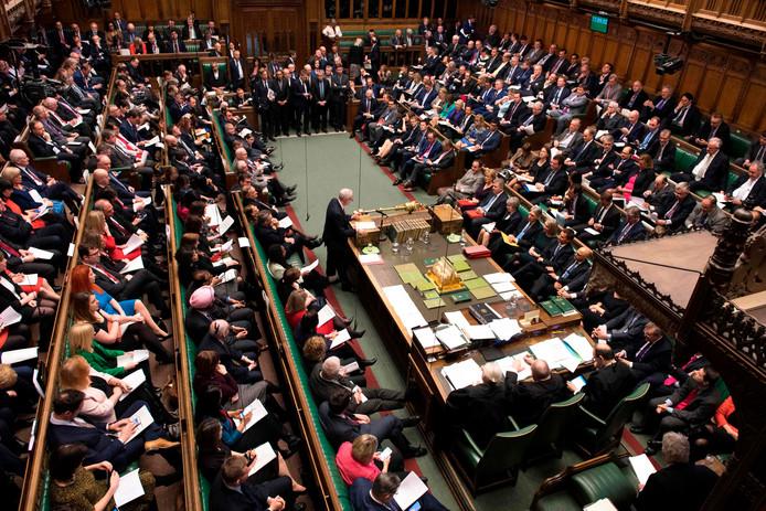 Het Britse Lagerhuis heeft vanavond de zoveelste belangrijke stemming.