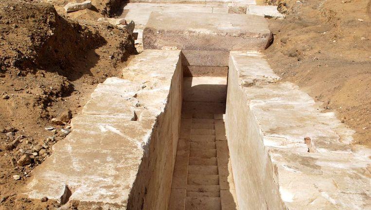 De piramide van Ameni-Kemaw in de dodenstad Dasjoer Beeld epa