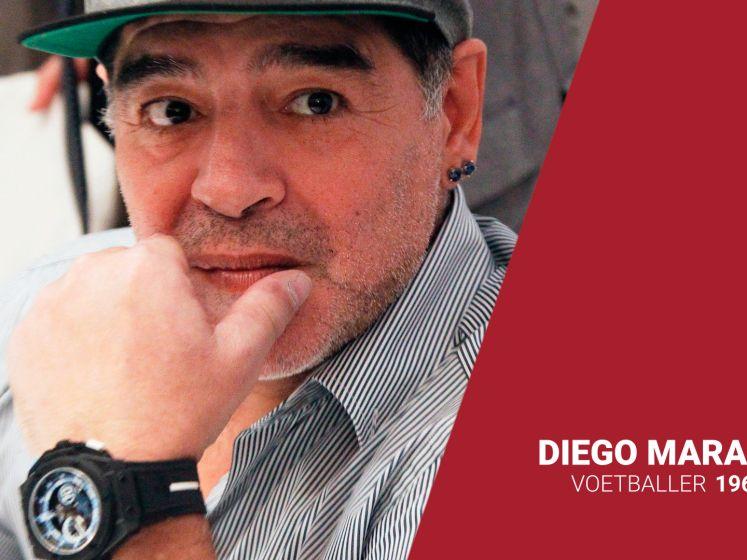Voetballegende Maradona overleden op 60-jarige leeftijd