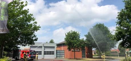 Water-ereteken in Eibergen ter nagedachtenis omgekomen brandweerlieden