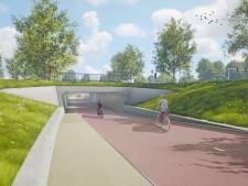 Dit is 'm: de fietstunnel naar Stappegoor