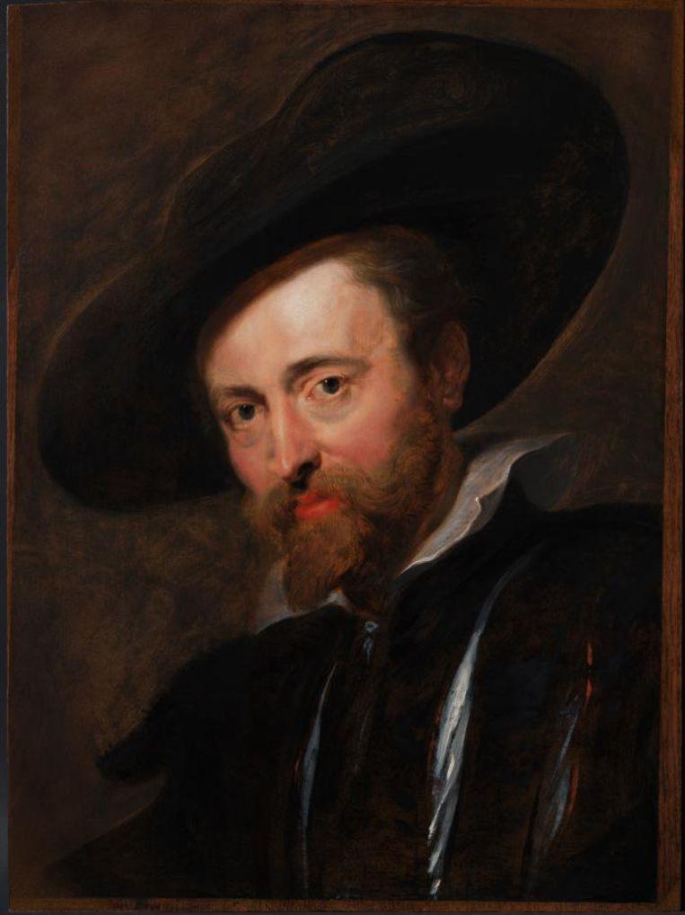 Het zelfportret na de restauratie.