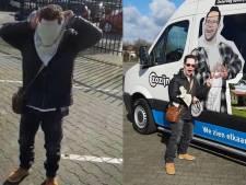 ZoZijn Raalte krijgt splinternieuwe bus met levensgrote foto van dolenthousiaste Patrick