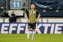 Sondre Tronstad, bij de nederlaag van vorige week in Heerenveen.