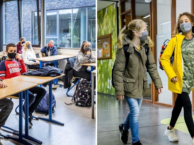 Middelbare scholen weer open: 'Juist voor pubers is dat contact belangrijk'