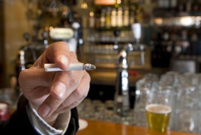 Het rookverbod in eetcafés in België is ongeldig voor Vlamingen. ANP Beeld