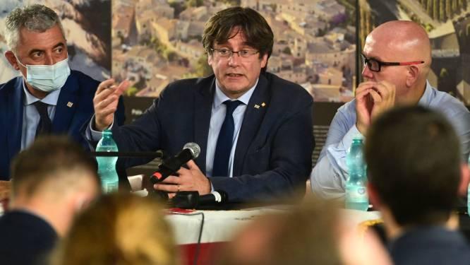 Puigdemont terug in Brussel na arrestatie in Italië