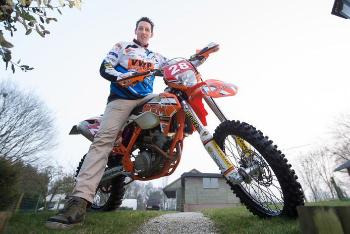 Motorcoureur Ismo ten Velde. Foto: Bert Kamp