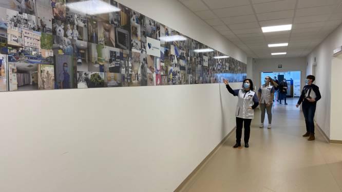 Heilig Hartziekenhuis Mol eert zorgverleners met heldenmuur