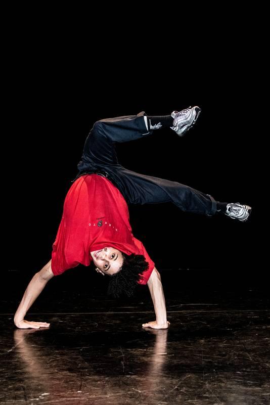 PR dgfoto Gelderlander Nijmegen: breakdancer Jean Salazar Tavera alias Shinshan doet mee aan Holland's Got Talent