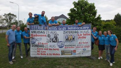Vier dagen feest in Bachte-Maria-Leerne