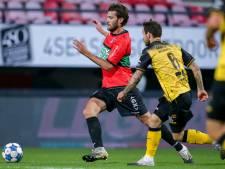 NEC blijft na gemiste strafschop achter met een punt tegen tienkoppig Roda JC