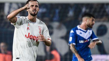 Pjanic schiet matig Juventus naar overwinning tegen Brescia