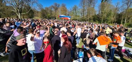 Brandhaarden door drukke parken op Koningsdag? In Arnhem zijn wel meer jongeren besmet