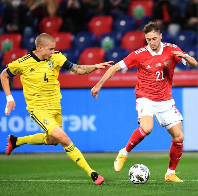 Sebastian Holmén heeft een ding gemeen met Zlatan Ibrahimovics. Allebei zijn ze niet geselecteerd voor de komende interlands van Zweden.