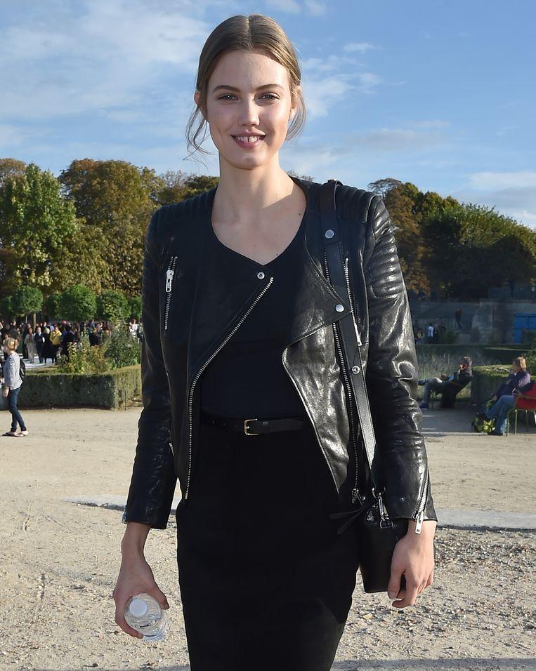 Topmodel Lindsey Wixson. Beeld GETTY