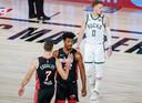 Jimmy Butler en Goran Dragic waren beiden goed voor 17 punten voor de Heat.